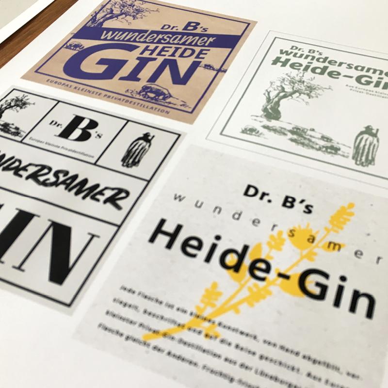 Dr. B Gin TWINNERS Zwillingsagentur Werbeagentur Designagentur Design Werbung Konzept Emsbüren Plettenberg